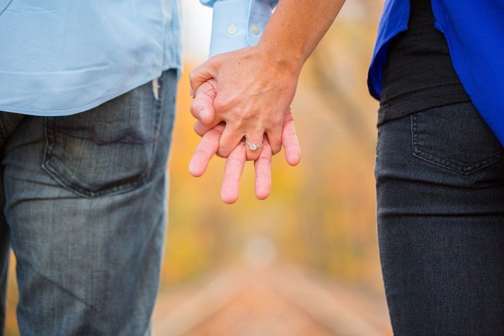 holding hands, couple, love