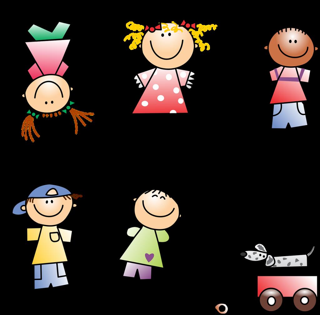 kids, drawing, girl
